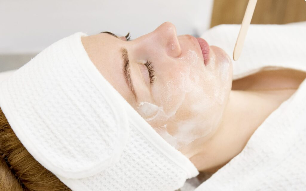 подготовка к массажу лица аппаратом старвак
